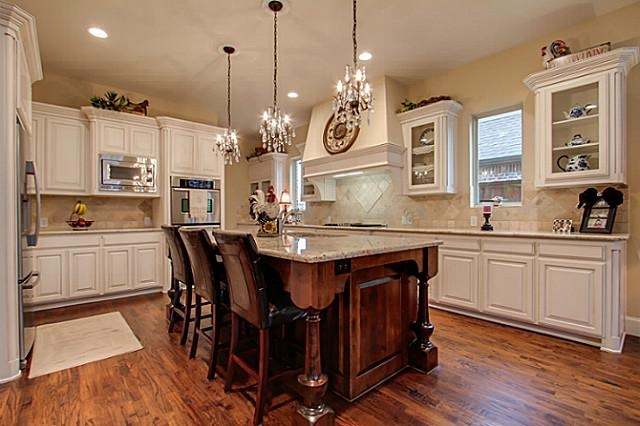 use of mini chandeliers as pendant lights for kitchen over on kitchen design ideas photos and videos hgtv id=84615