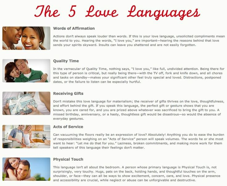 5 love languages signs sayings pinterest best
