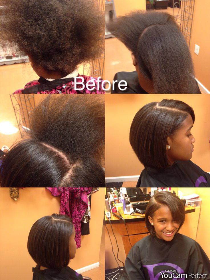 Before And Wow Blowout And Silk Pressed All Natural Hair