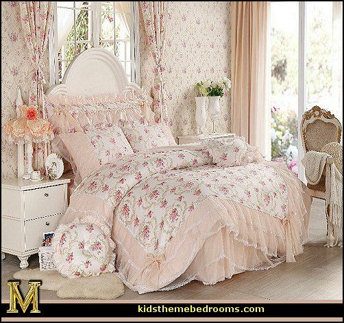 Victorian Style Bedding Sets Bedroom Decor Lace And Ruffles