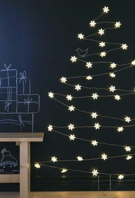 ARQUITETANDO IDEIAS: 8 ideias para fazer árvores de Natal diferentes:
