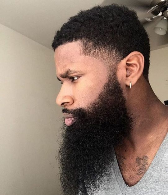 Black Bearded Men