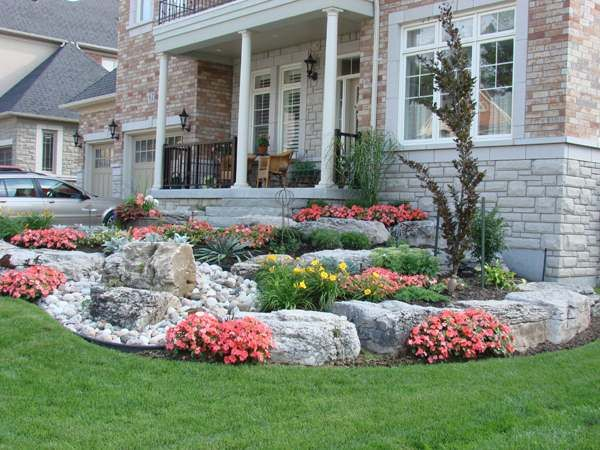 49 best images about front yard slope on pinterest on beautiful front yard rock n flowers garden landscaping ideas how to create it id=52417