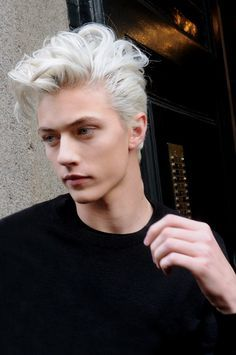 25 best ideas about white hair men on pinterest silver hair men lucky blue smith and septum