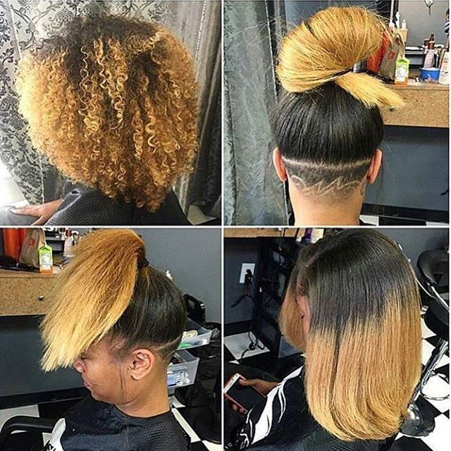 1000 Ideas About Undercut Natural Hair On Pinterest