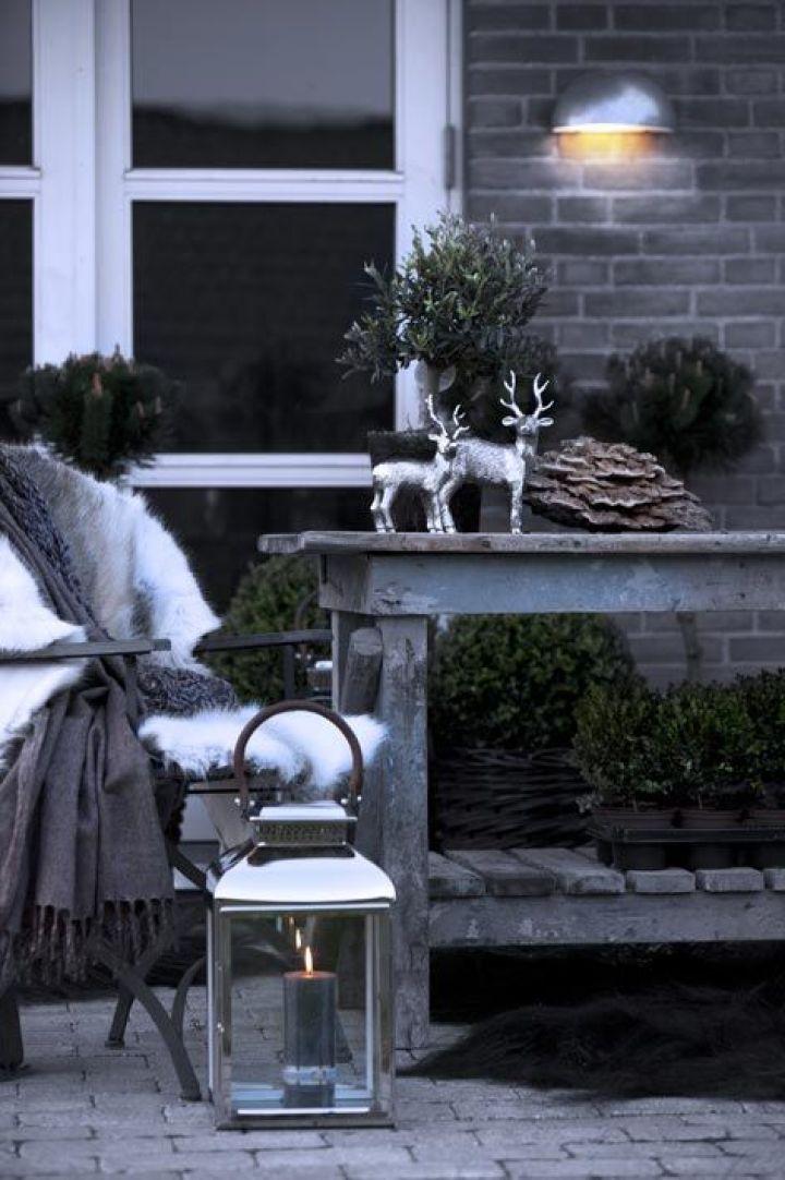 Buitenleven   De mooiste kerst tuin inspiratie - Woonblog StijlvolStyling.com