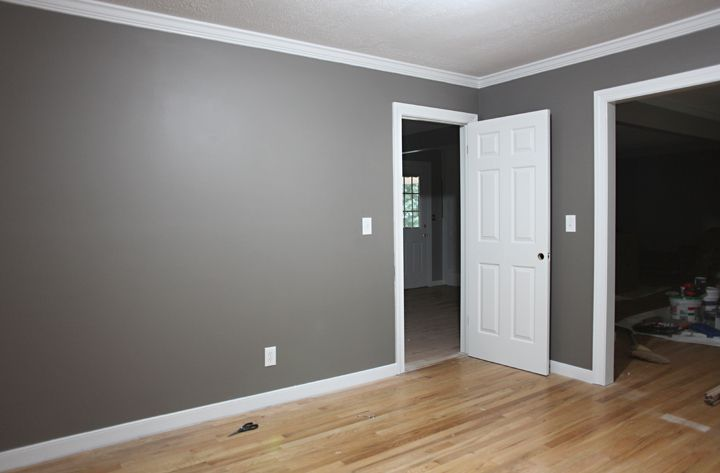 grey walls white trim i think i like that leave the on wall pictures id=33346