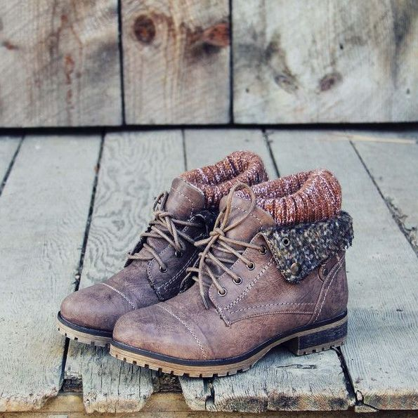 im mostly into taller boots but these bad boys are SUPER cute! LOVE the rustic worn