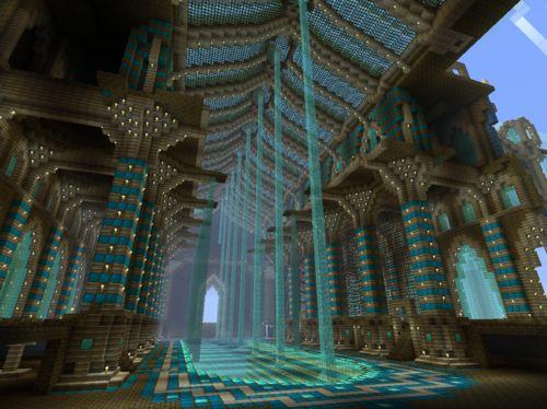 Incredible Minecraft Cathedral Interior Minecraft