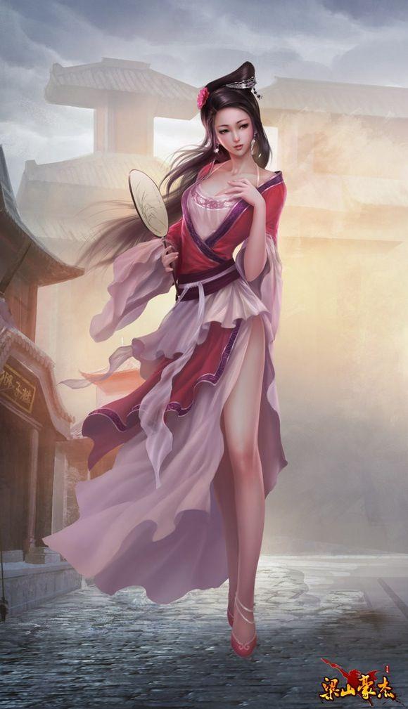 427 Best Asian Fantasy Art Images On Pinterest