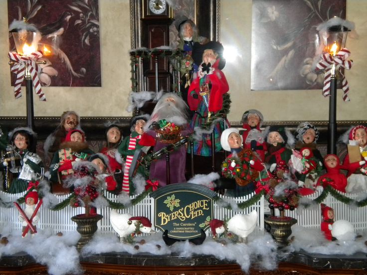 My Byers Choice Carolers Christmas Pinterest Caroler