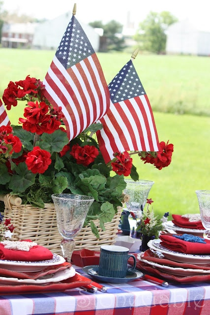 Memorial Day Table Happy Memorial Day Tablescapes And