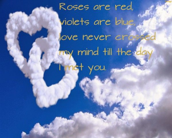 Short Valentines Day Poems On Pinterest A Selection Of