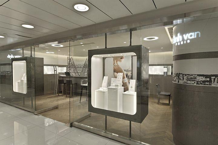 Dinh Van Jewellery Boutique By Stefano Tordiglione Design
