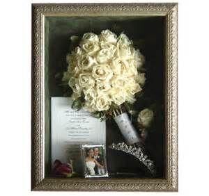 Shadow BoxWedding Memories Brooch Bouquets