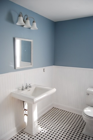 1000 Ideas About Blue White Bathrooms On Pinterest Tub