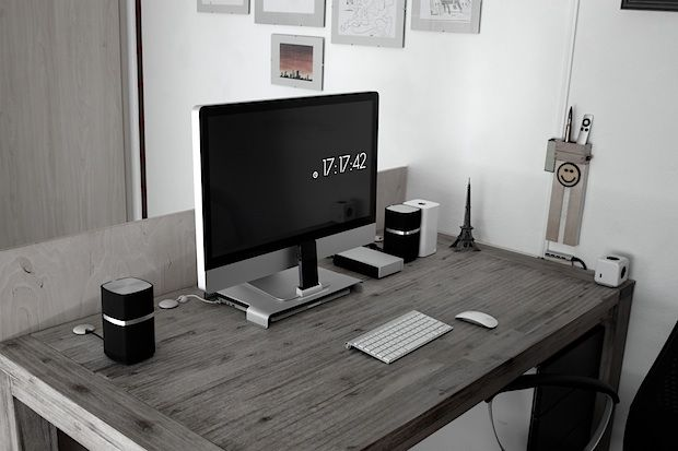 The Beautifully Simple Mac Desk Setup Of An Electrical