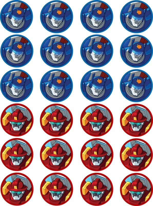 Free Transformer Rescue Bots Party Printables Create A