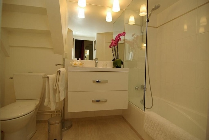 The Stairs Bathroom 28 Images Dennis Stairs Bathroom The   Under Stair Toilet Design   Toilet Separate   Small   Powder Room   Down   Minimalist