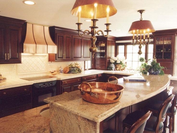 Upper Arlington Ohio Kitchen Custom Cherry Cabinets