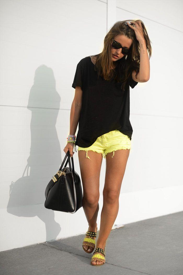 25 Best Ideas About Neon Yellow Shorts On Pinterest
