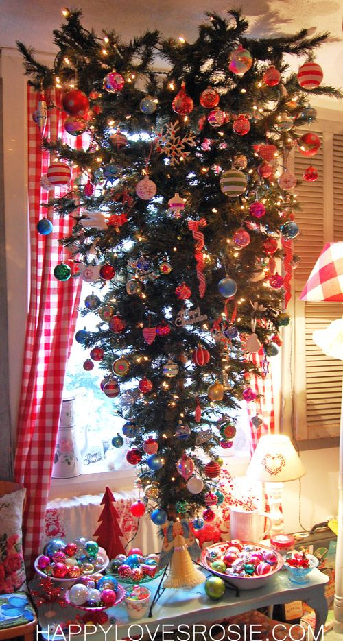 46 best images about Upside Down Christmas Trees on ...
