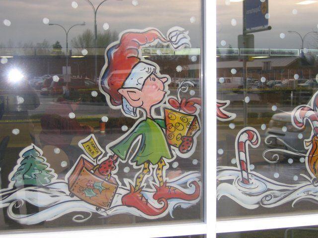 1000 Ideas About Window Paint On Pinterest Window Art