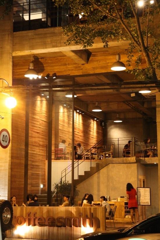 Coffee Smith Garosu Gil Seoul Korea Pinterest