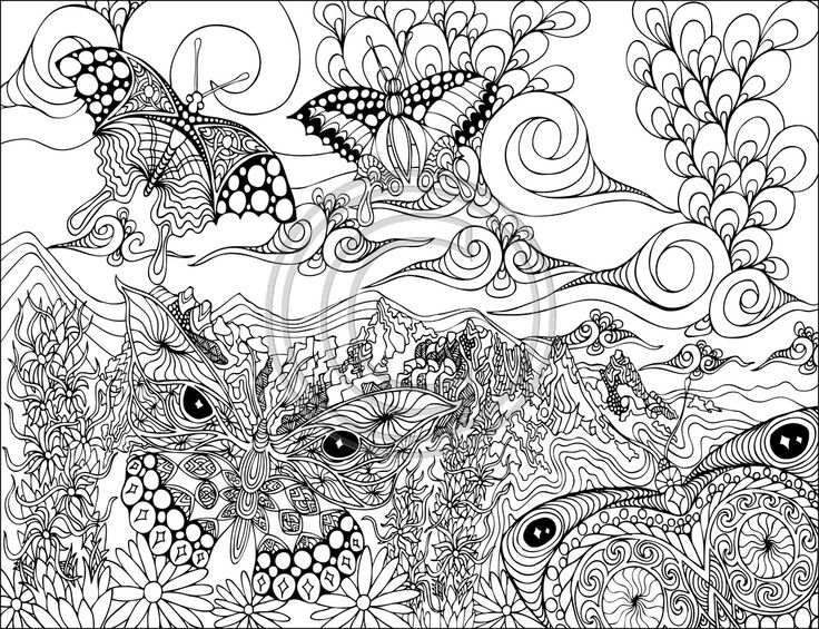 Phil Lewis Art Coloring Books For Adults Drawing And