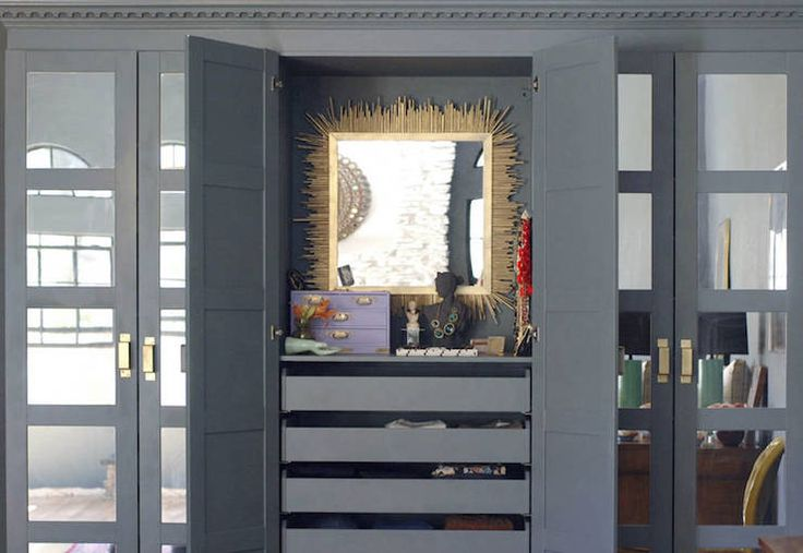 1000 Ideas About Wardrobe With Mirror On Pinterest