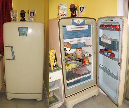 258 Best Vintage Refrigerators Ice Boxes Images On Pinterest