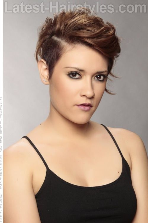 1000 Ideas About Short Edgy Hairstyles On Pinterest