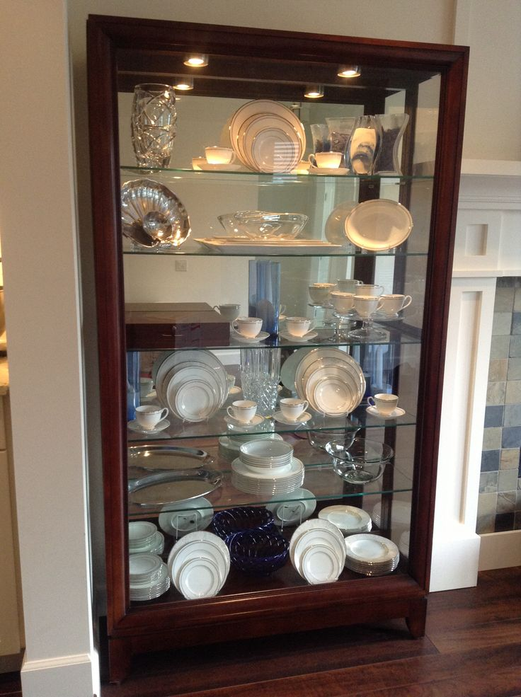China Cabinet Display Idea For The Home Pinterest China Cabinet Display Love This And Love