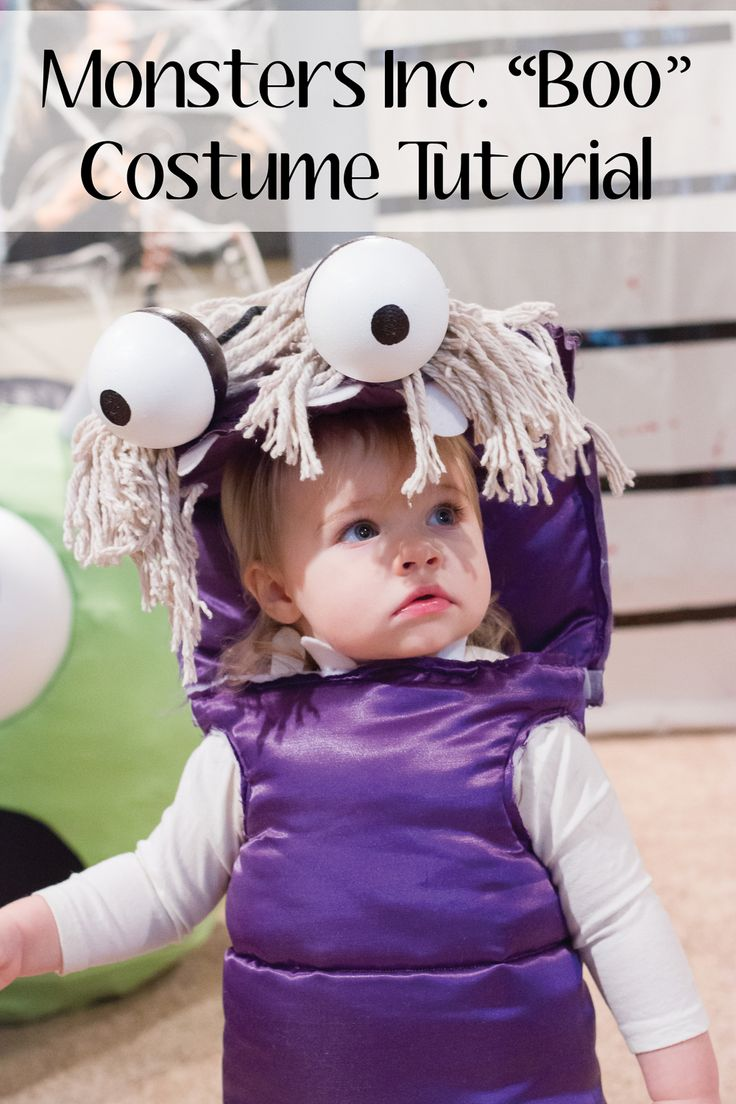 diy boo monsters inc costume | diydrywalls