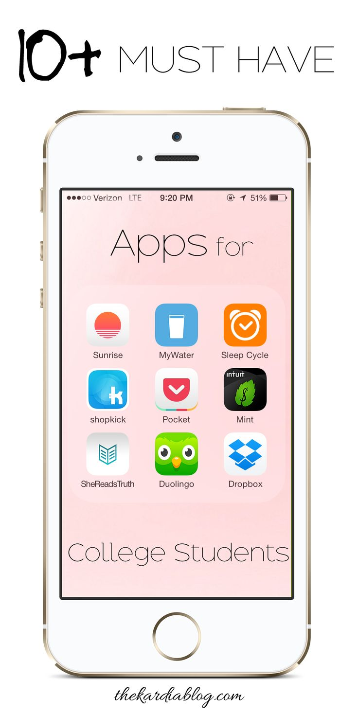 10 Must Have Apps for College Students! Save time by being productive and organized   The Kardia Blog
