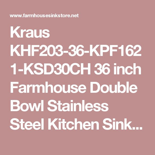 1000 Ideas About Stainless Farmhouse Sink On Pinterest