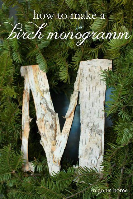 How to make a birch bark mo