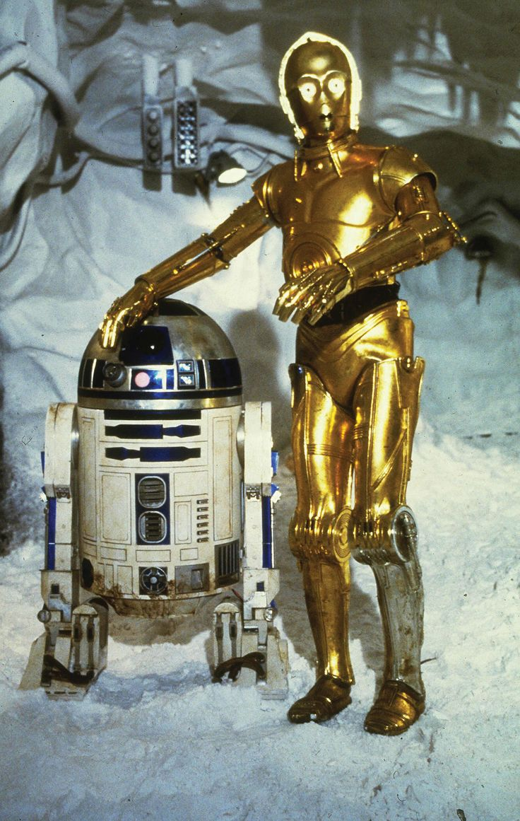 R2d2 And C3po R2D2 And C3PO Two Of The Most Famous