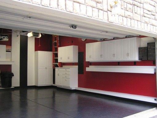 31 best images about Garage Ideas on Pinterest | Storage ... on Garage Color Ideas  id=15641