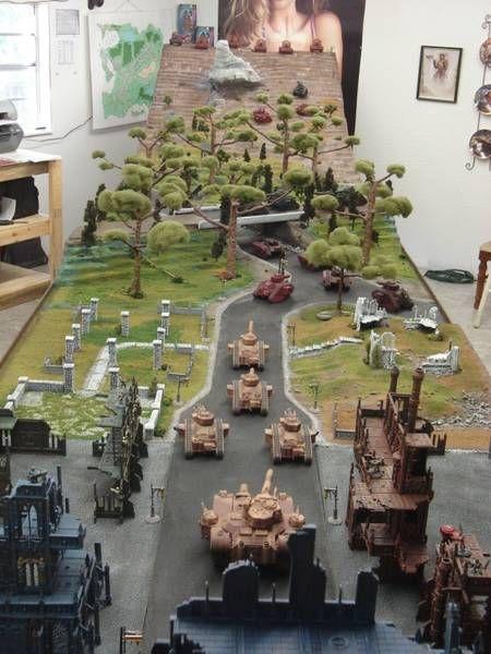 Tabletop Fantasy Scenery Kelli Arena