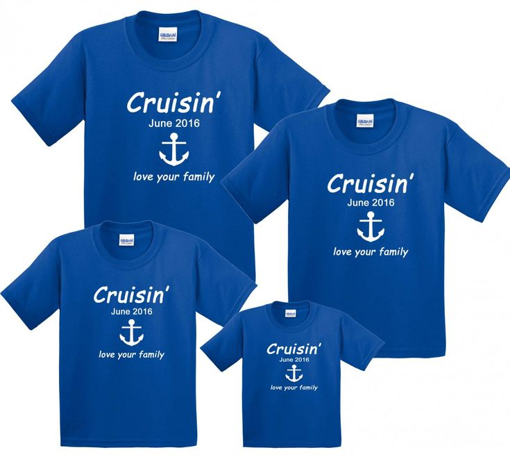 Cruise Vacation Family Matching T Shirts Personalized