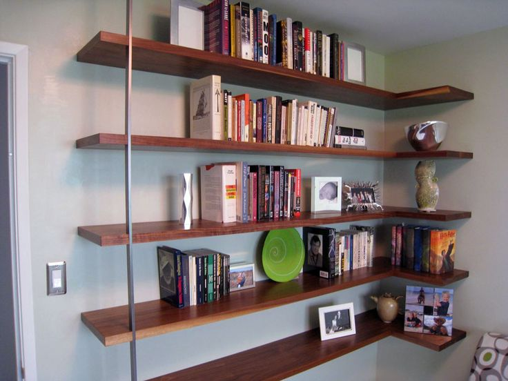 17 Best Images About Mid-Century Modern Wall Shelves On