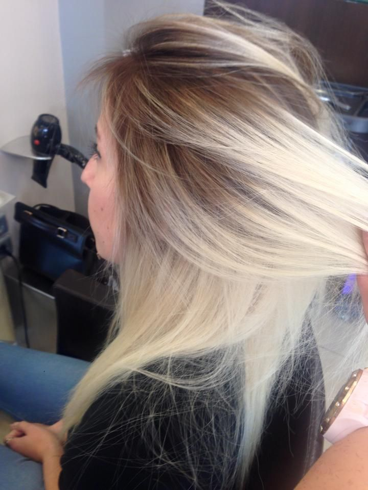 1000 Ideas About Blonde Dark Roots On Pinterest Dark