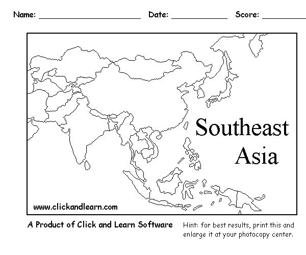 """Week 19 Geography, Just Add Dot Under The """"i"""" In Asia For"""