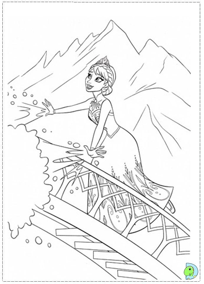 Elsa Let It Go Worksheets Coloring Pages And School