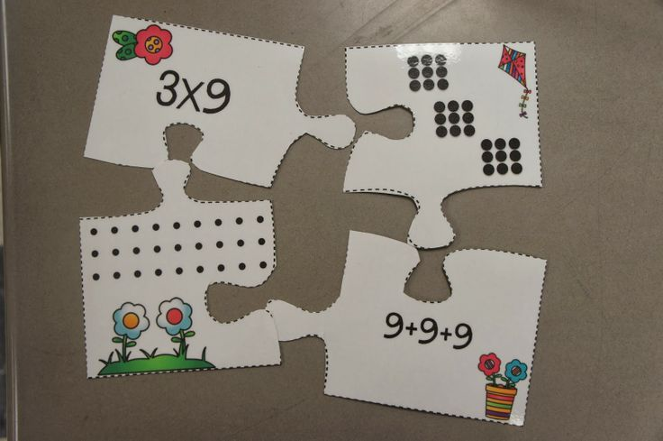 Multiplication & Division Puzzles One of then center activities that review ALL of the third grade Common Core Standards for math