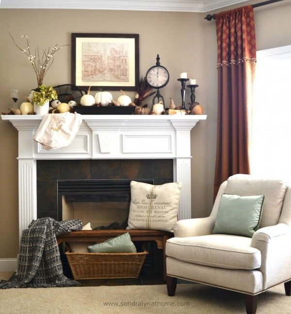 Fireplace Mantel Decorating Ideas For Everyday   Kitchen Ideas Last News     mantel decorating ideas for everyday  80 best images about living room  on pinterest   blue wall colors