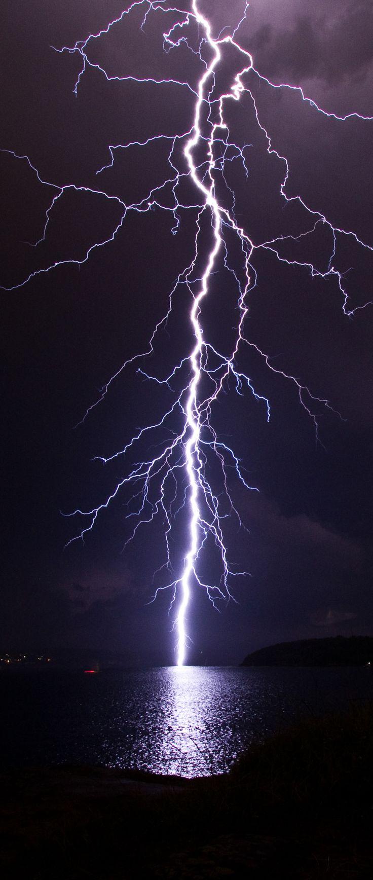 Lightning Strike – Sydney Thunderstorm