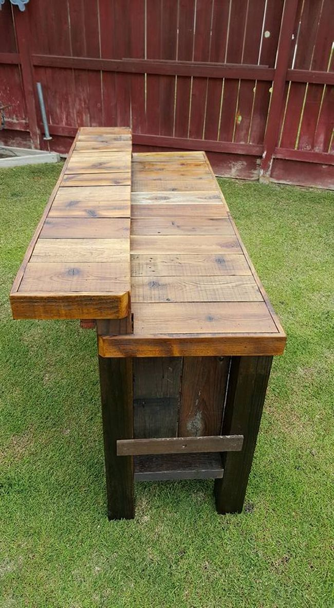 474 best Outdoor Bars and Counter tops images on Pinterest on Best Backyard Bars id=51859