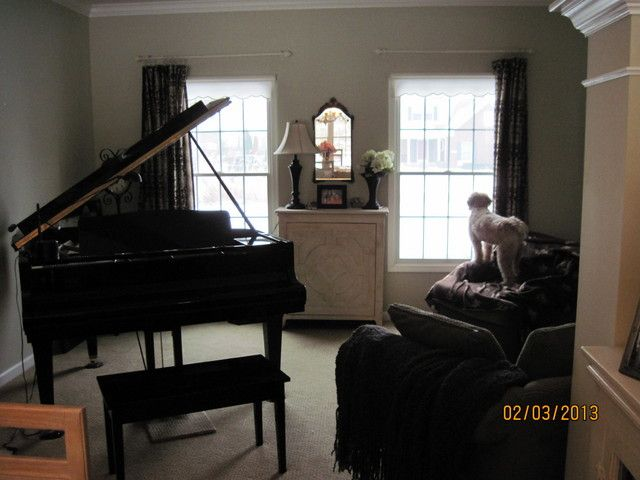 Decorating Around A Baby Grand Piano In Small Living Room Home Design